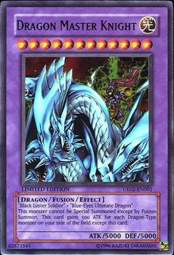 YuGiOh Ultimate Edition 2 Promo Single Card Ultra Rare Dragon Master Knight U...