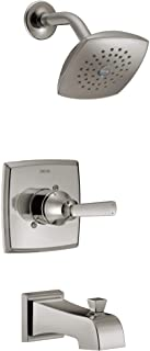 Delta Faucet T14464-SS Ashlyn Tub & Shower, Without Rough, Stainless