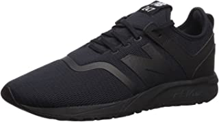 New Balance Men's 247d1 Sneaker, Black, 12 D US