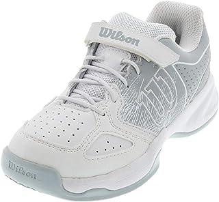 Wilson Junior/Enfant Chaussures de Tennis - Bleu-foncé/Bleu-Clair/Doré - 28 1/3 EU