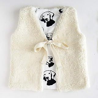 Vizsla Print Baby Girl Vest, Size 9-12 Month