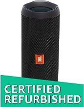 JBL Flip 4 Portable Waterproof Bluetooth Speaker (Factory Renewed, Black)