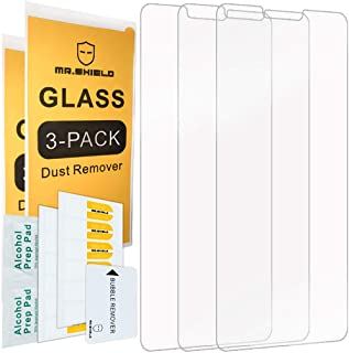 [3-PACK]-Mr.Shield For LG V40 ThinQ [Tempered Glass] Screen Protector with Lifetime Replacement