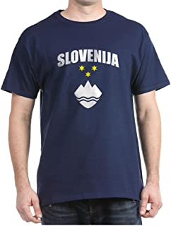 CafePress Slovenia Classic 100% Cotton T-Shirt