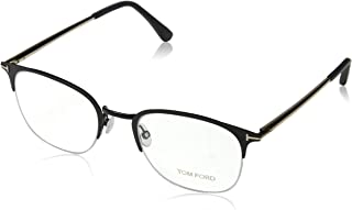 Semi-Rimless Eyeglasses TF5452 002 Matte Black 52mm FT5452