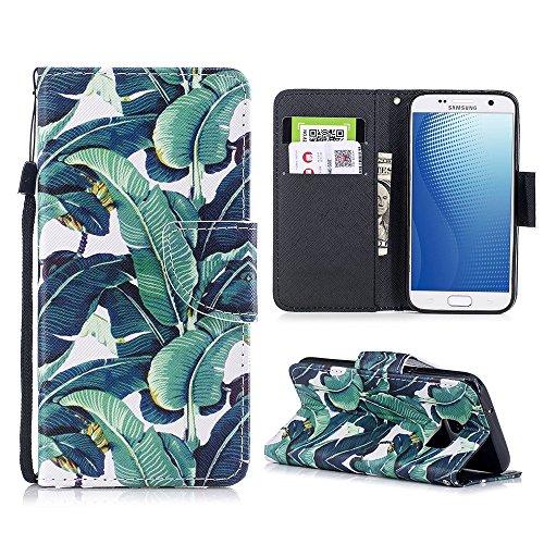 Mosoris Cover Samsung Galaxy S7, Crossgrain PU+TPU Portafoglio Custodia in Pelle con Porta Carte, Funzione Stand Flip Case con Porta-Carte di Credito e Porta-Biglietti da Visita Chiusura Magnetica