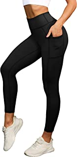 OURIN Womens High Waist Tummy Control Workout Yoga Pants Athletic Leggings with Pockets