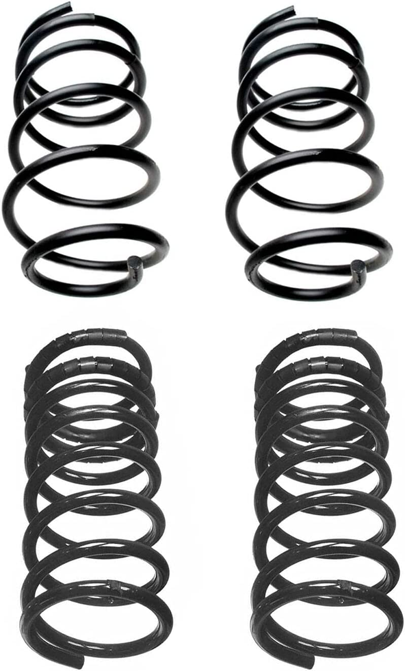 Front and Rear Coil Springs kit O with San Francisco Mall Louisville-Jefferson County Mall Compatible Cadillac Buick
