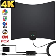 TV Antenna, 2020 Newest HDTV Indoor Digital Amplified TV Antennas 130+ Miles Range with..