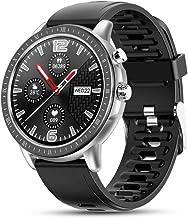 UIEMMY slim horloge volledige cirkel full-touch slimme armband, hartslag, bloeddruk, bloedzuurstof, slaapbewaking, meerder...
