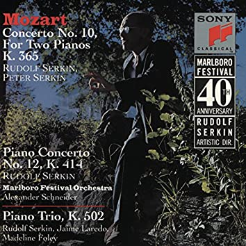 Mozart: Concerto for 2 Pianos in E-Flat Major, K. 365, Piano Concerto No. 12 in A Major, K. 414 & Piano Trio No. 3 in B-Flat Major, K. 502