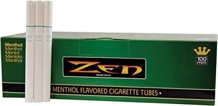 Zen Menthol 100mm Cigarette Tubes (200 Ct/box) 1 Box