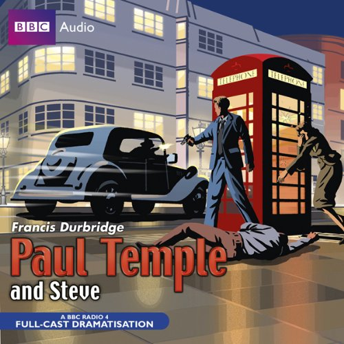 Paul Temple and Steve audiobook cover art