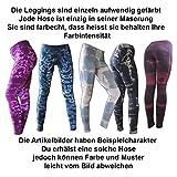 PANASIAM Leggings: Batik, Tydy05' im Braun-Beigeton, M - 4