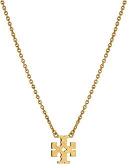 Logo Charm Delicate Necklace