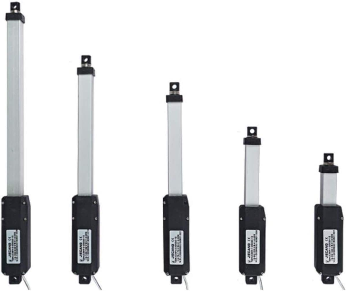 DGPOAD 12V Linear Actuator Aluminum Alloy Small Electric Push Rod Mini Linear Motor,ACDC Power Supply