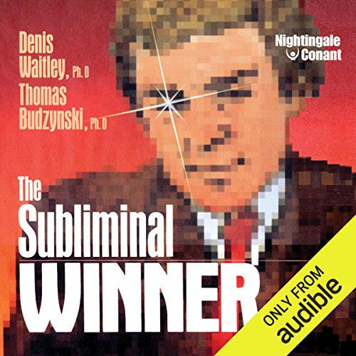 The Subliminal Winner                   Written by:                                                                                                                                 Ph.D Denis Waitley,                                                                                        Ph.D Thomas Budzynski                               Narrated by:                                                                                                                                 Denis Waitley,                                                                                        Thomas Budzinski                      Length: 5 hrs and 52 mins     2 ratings     Overall 5.0