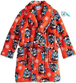 Thomas The Train Winter Fun Snowflake Robe with Whistle -Toddler Boy