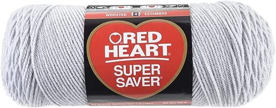 RED HEART Super Saver Yarn, Light Grey