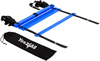 Yes4All Agility Ladder – Speed Agility Training Ladder with Carry Bag