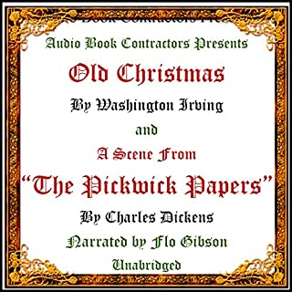 """""""Old Christmas"""" and a Scene from """"The Pickwick Papers"""" cover art"""