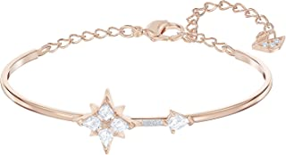 SWAROVSKI Crystal Symbolic Rose Gold-Tone Star Bangle Bracelet