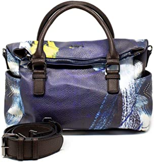 Luxury Fashion | Desigual Womens 19WAXPDZBLUE Blue Handbag | Fall Winter 19