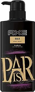 アックス ゴールド フレグランス ボディソープ ポンプ (ウッドバニラの香り) 400g