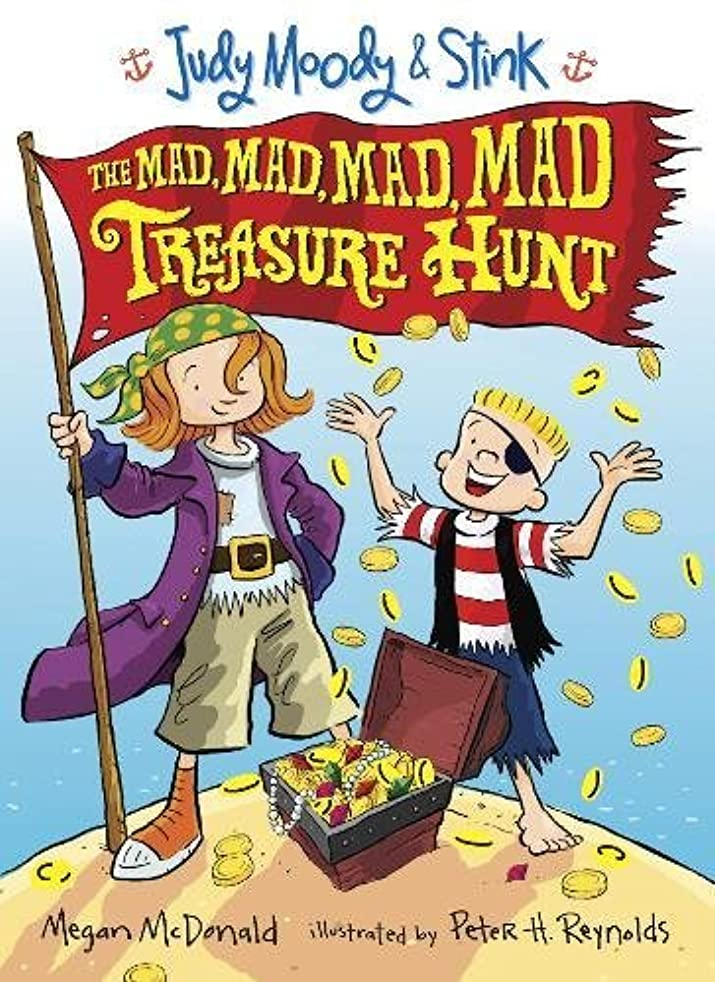 世界記録のギネスブック仲間、同僚隔離するJudy Moody and Stink: The Mad, Mad, Mad, Mad Treasure Hunt (Judy Moody & Stink)