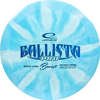 Latitude 64 Gold Burst Ballista Pro Distance Driver Golf Disc [Colors May Vary]