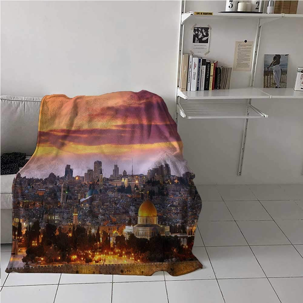 Soft Blanket Throw Landscape Old 開店祝い Ci 安全 Comfortable and