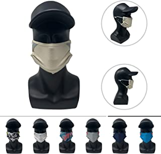 Sponsored Ad - CoolNES - Face Mask - Adjustable Reusable Comfort - Unisex Outdoor Sport Athelitcs - Polyester