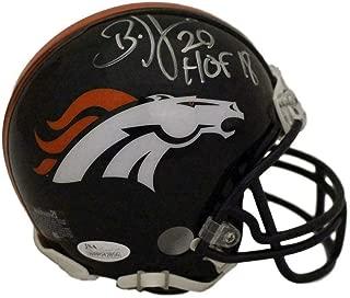 Brian Dawkins Autographed Mini Helmet - HOF 22036 - JSA Certified - Autographed NFL Mini Helmets