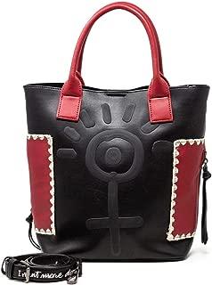 Luxury Fashion   Desigual Womens 19WAXPBCBLACK Black Handbag   Fall Winter 19