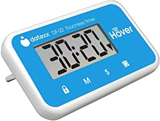 Datexx Hover Kitchen Timer - Touchless Digital Countdown Timer, Hands-Free Control, Blue