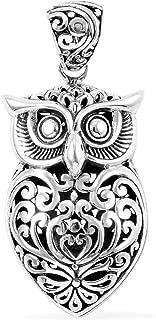 Best sterling silver owl pendants Reviews