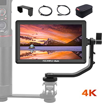 FEELWORLD Master MA6P, 5.5 inch on Camera Field Monitor, Full HD 1920x1080 IPS, for Gimbal/Stabilizer, 4K HDMI Input Output