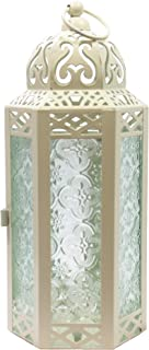 large cream lantern