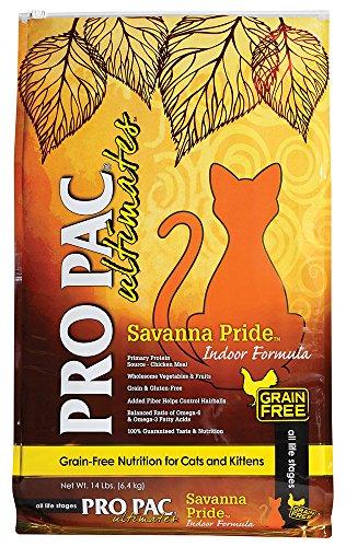 Pro Pac Ultimates Savanna Pride Grain Free Dry Cat Food, 14 Lb.