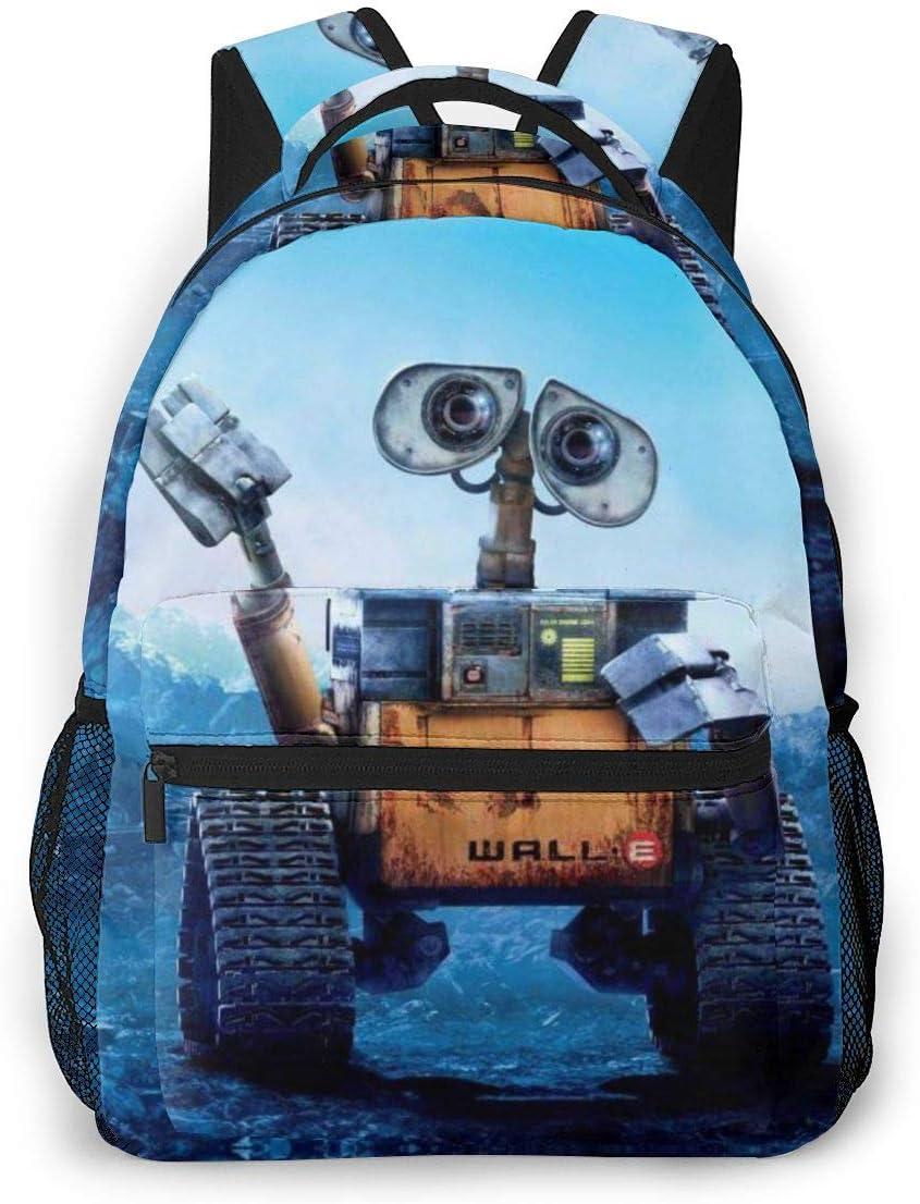 Kids Unisex Max 84% OFF Backpack Rucksack Film_Walle School Travel B Cheap mail order sales Running
