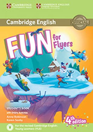 Fun for Flyers Students Book with Online Activities with Audio [Lingua inglese]