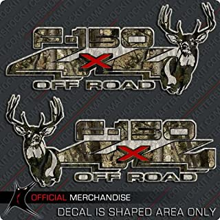 4x4 Whitetail Deer 150 Truck Sticker Archery Camo Decal Set