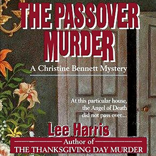 The Passover Murder audiobook cover art