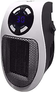 Mini Calentador 500W Hot Velocidad Funcionamiento del Control Remoto 0-12 Momento turística Calefactor eléctrico portátil