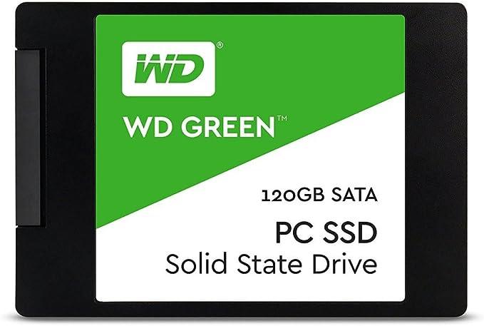 """Western Digital Green 2.5"""" 120GB SATA3 SSD WDS120G1G0A"""