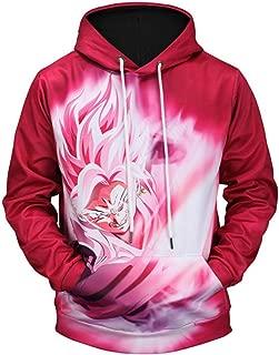Hoodies Jacket Anime Dragon Ball Super Super Saiyan Goku Ultra Instinct Vegeta XSD-13 (XL, DB4)