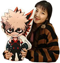 Raleighsee My Hero Academia Animation Around Plush Pillow Izuku Midoriya/Bakugou Katsuki/Todoroki Shoto Novelty Anime Cartoon Image Pillow Anime Fans Gift-48cm/19''(H02)