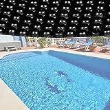 Wiltec Pool Solarfolie 3.6m Rund schwarz Poolabdeckung...