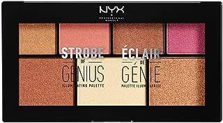 NYX PROFESSIONAL MAKEUP Strobe Of Genius Illuminating Palette, 0.56 Ounce