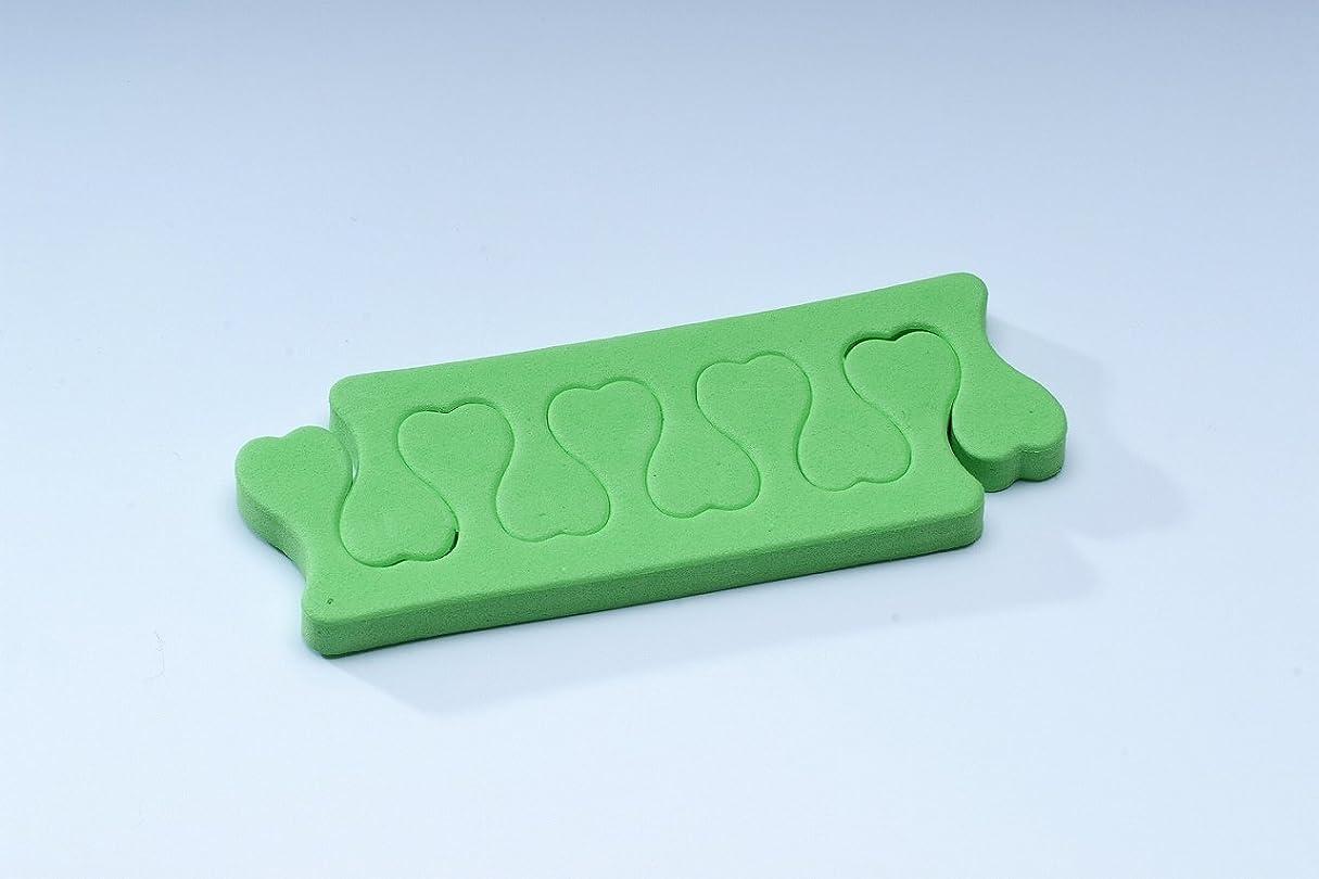 保証添加機械的にフィンガーセパレーター【緑】 gln03